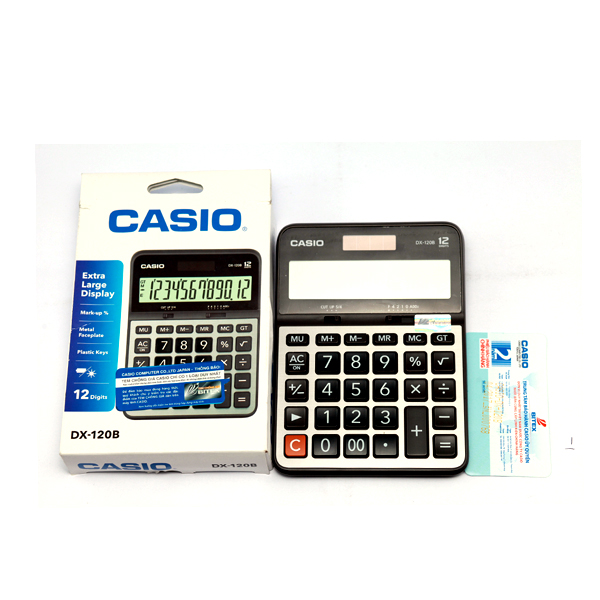 Kết quả hình ảnh cho Máy Tính Casio DX-120B