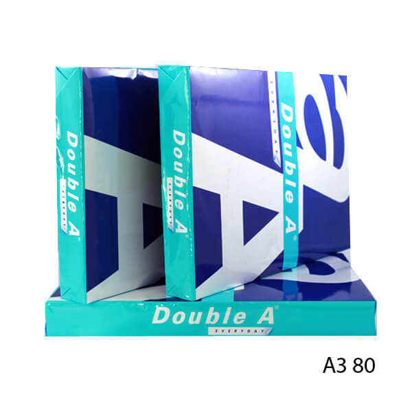 GIẤY DOUBLE A A3 80 GSM CAO CẤP