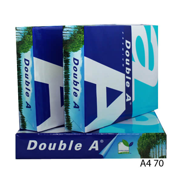 GIẤY DOUBLE A A4 70 GSM CAO CẤP