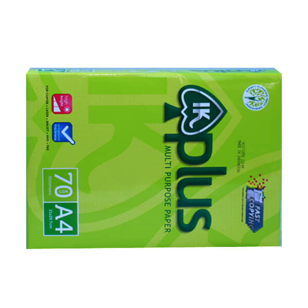 GIẤY IK PLUS A4 70 GSM BÁN TẠI TPHCM