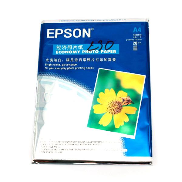HÌNH ẢNH 1 XẤP GIẤY IN ẢNH EPSON A4 230 GSM Liên Hệ: (028) 3.5164578 - 3.5164579