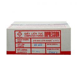 GIẤY LIÊN SƠN 1 LIÊN SUPER WHITE 210 X 279 Liên hệ: (028) 3.5164578 - 3.5164579