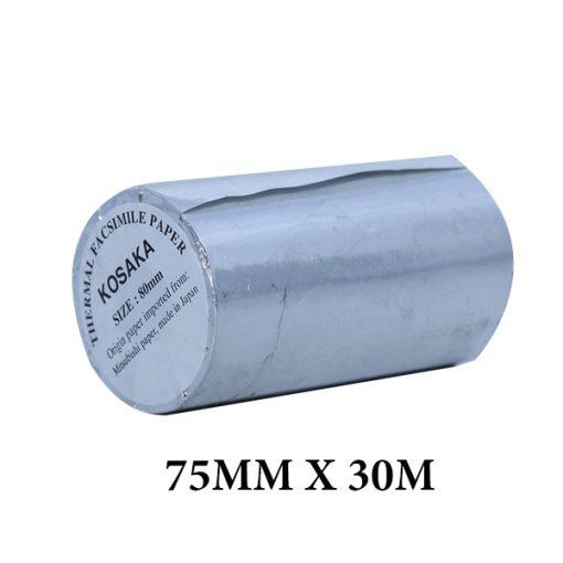 GIẤY NHIỆT 75MM X 30M Liên Hệ: (028) 3.5164578 - 3.5164579