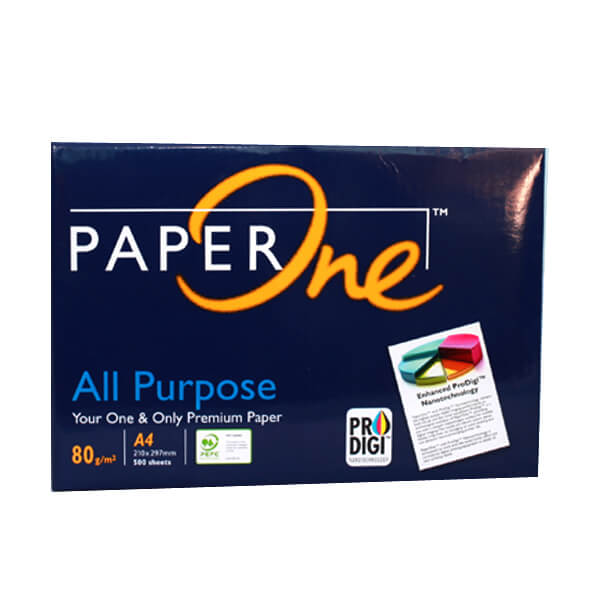 GIẤY PAPER ONE A4 80 GSM CHẤT CAO CẤP