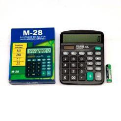 MÁY TÍNH TQ CASIO M 28 Liên Hệ: (028) 3.5164578 - 3.5164579