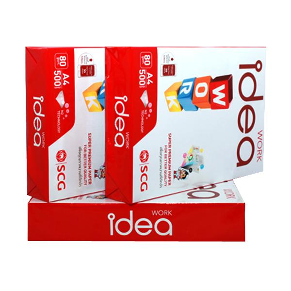 GIẤY IDEA WORK - GIẤY IDEA 80 GSM Liên Hệ: (028) 3.5164578 - 3.5164579