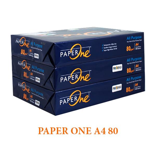 GIẤY A4 PAPER ONE 80 Liên Hệ: (028) 3.5164578 - 3.5164579