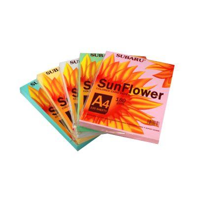 GIẤY A4 CỨNG BÌA THÁI SUN FLOWER Liên Hệ: (028) 3.5164578 - 3.5164579