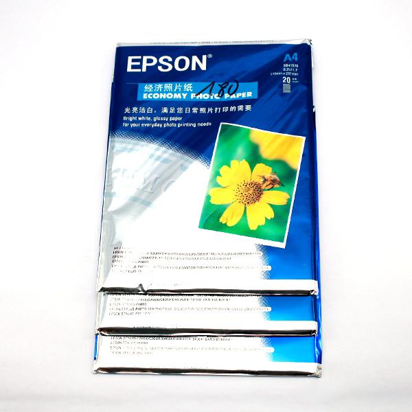 3 XẤP GIẤY IN ẢNH EPSON A4 180 GSM Liên Hệ: (028) 3.5164578 - 3.5164579