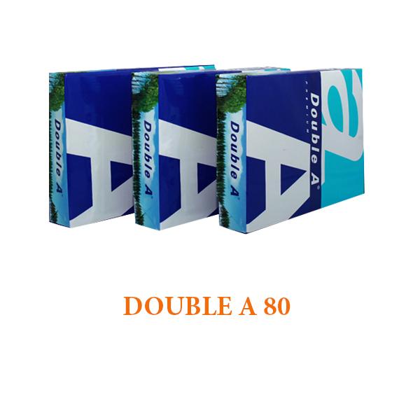 GIẤY IN DOUBLE A A4 ĐỊNH LƯỢNG 80 Liên Hệ: (028) 3.5164578 - 3.5164579