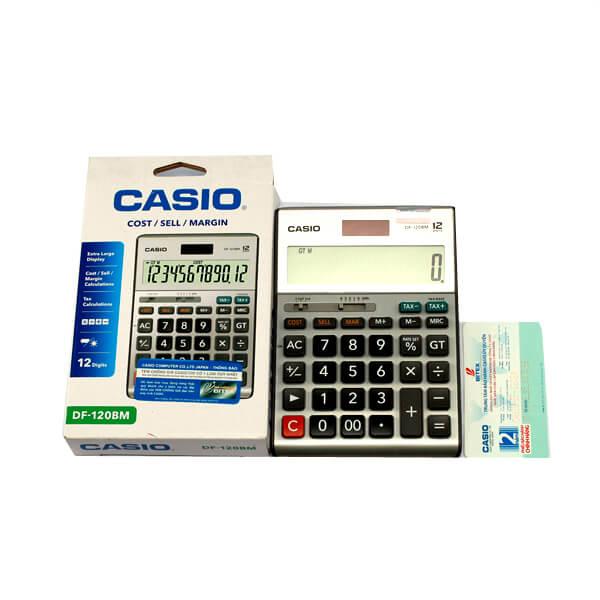 Hướng dẫn cách kiểm tra máy tính Casio chính hãng.